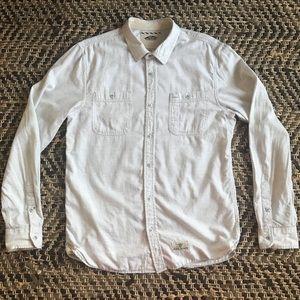 Vans Long Sleeve Button Down Shirt Men's